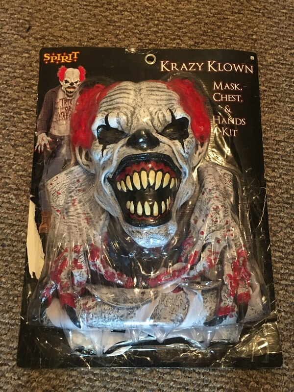Krazy Klown Halloween Costume