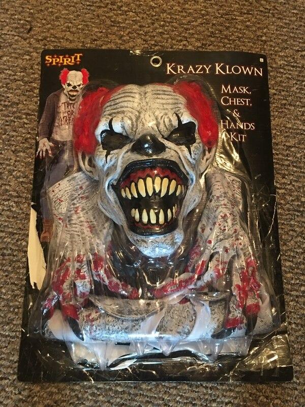 Krazy Klown Halloween Costume