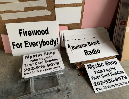 Yard Signs Near Me Fredericksburg VA Stafford Coroplast Signage