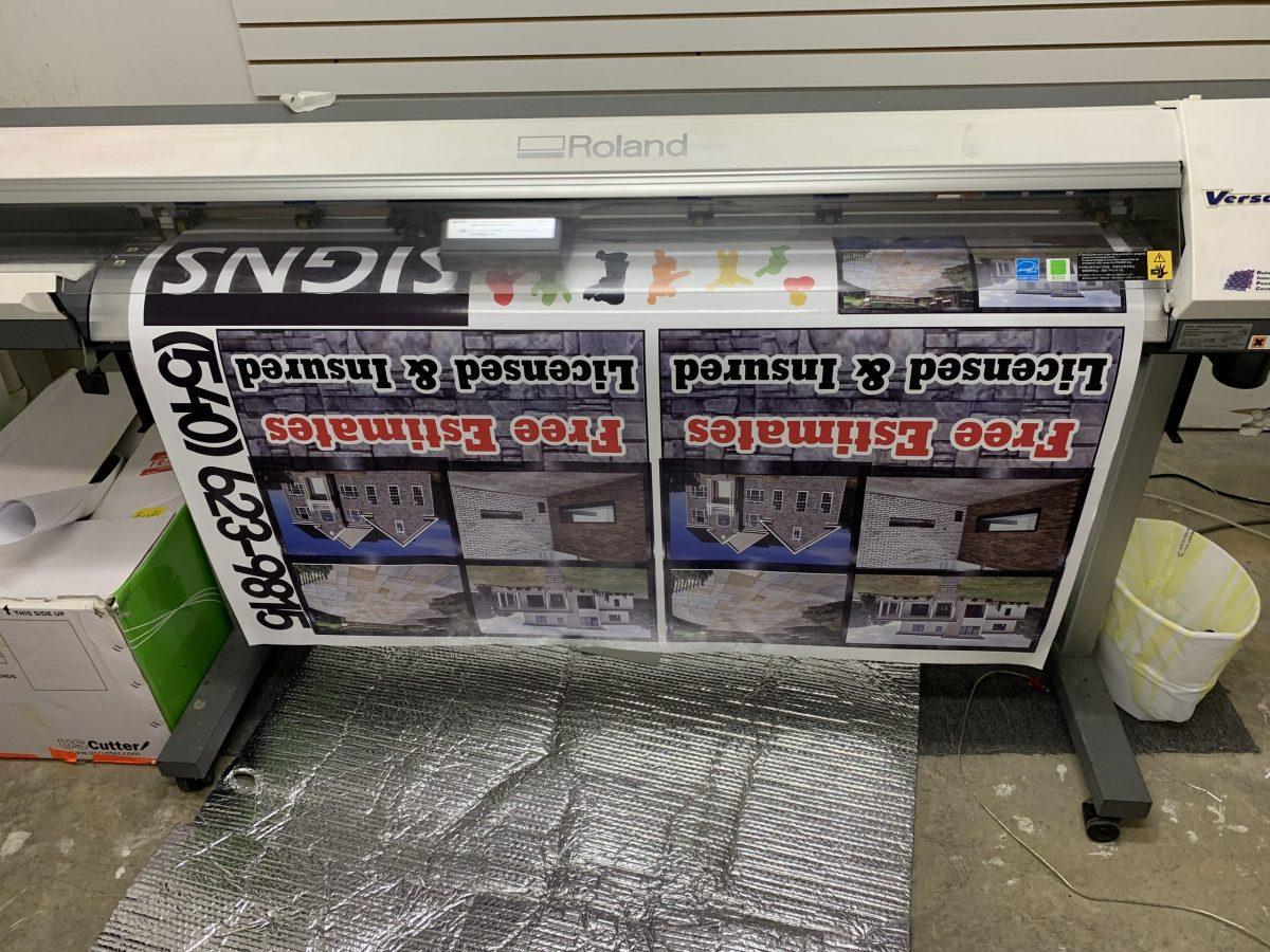 Adhesive Vinyl Printing Services