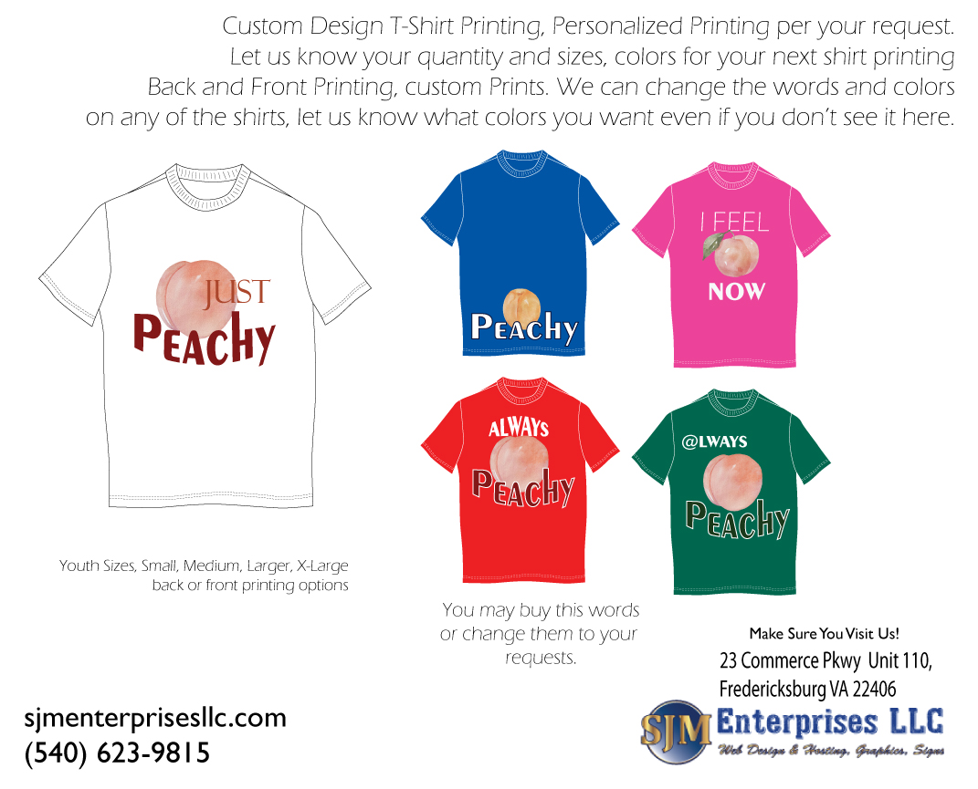 Feeling Peachy Shirts